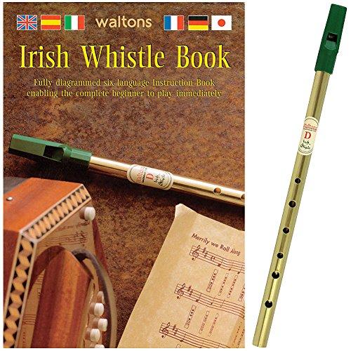 Waltons Irish Tin Whistle Pack Bk & Whistle* [Paperback] By # (Walton Irish Whistle compare prices)