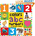 Big Board Books Colors, ABC, Numbers (First 100)