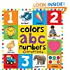 Big Board Books Colors, ABC, Numbers (Bright Baby)