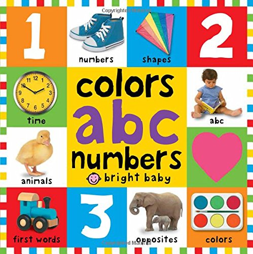 Bright Baby Colors, ABC, & Numbers