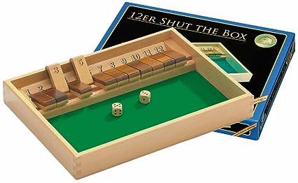Philos - 3120 - Jeux de Société Allemand - 12er Shut The Box