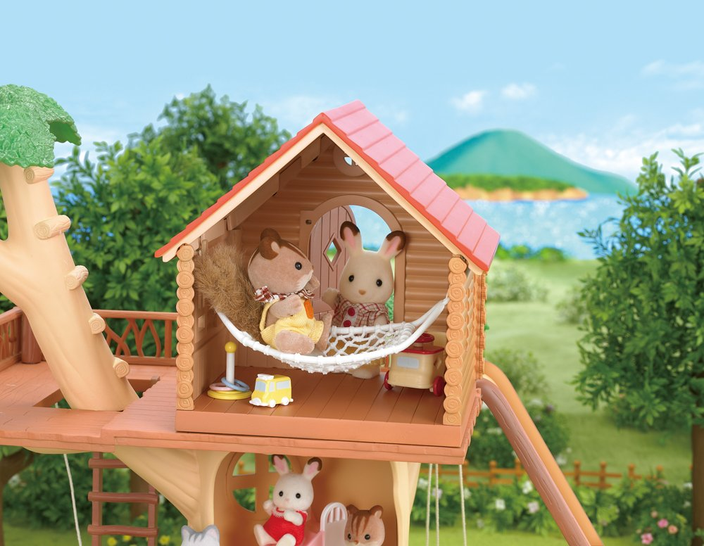 Amazon.com: Calico Critters Adventure Tree House: Toys & Games