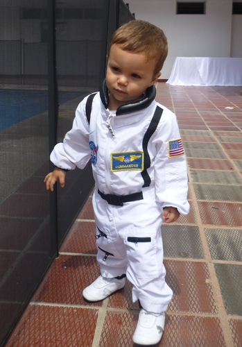 NASA Jr. Astronaut Suit Halloween Costume