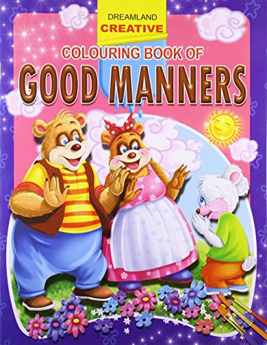 Good Manners (Creative Colouring Books) Image
