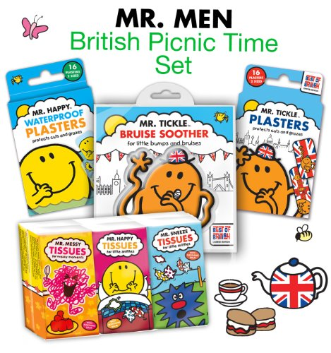 Mr. Men British Picnic Time Set