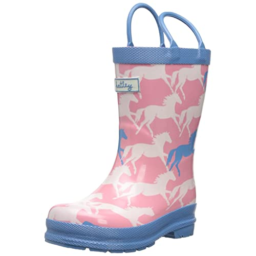 Hatley Little Girls  Rainboots - Show Horses
