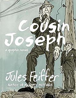 Book Cover: Cousin Joseph: A Graphic Novel