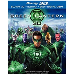 Green Lantern Movie on Blu-ray 3D