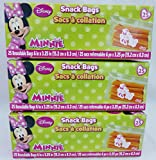 Disney® Minnie Resealable Snack Bags 75 Ct