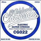 D'Addario ダダリオ エレキギター用バラ弦 フラットワウンド .022 CG022 【国内正規品】