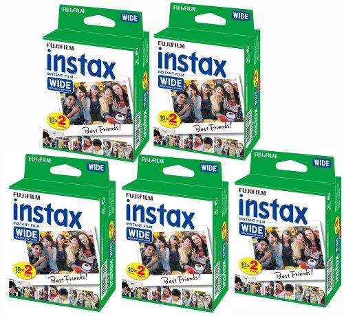 Fujifilm-Instax-Set-de-5-cajas-de-20-carretes-100-fotos-formato-ancho-para-Fuji-Instax-210