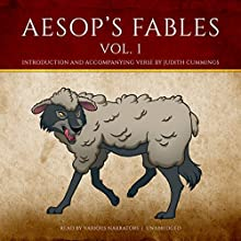 Aesop's Fables, Vol. 1 Audiobook by  Aesop, Judith Cummings - contributor Narrated by Eddie Albert, Gregory Hines, Cathy Moriarty, Rod Steiger, Michael York,  full cast