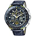 Citizen Eco-Drive Limited Edition Men's Watch Model JY0041-05L Skyhawk A-T Strap Blue Angels Watch
