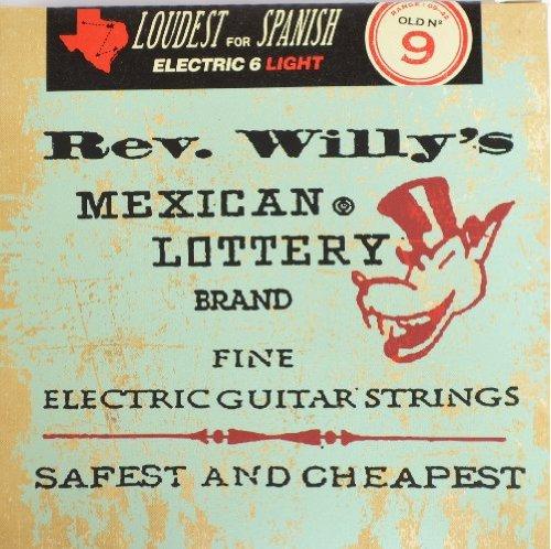 Dunlop-Corde per chitarra/basso Lemmy Zakk Wylde Rev. Willy Kerry King Rev. Willy's - Medium Light