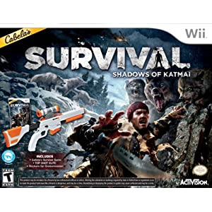 Cabelas Survival: Shadows of Katmai Video Game for Wii