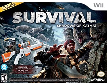 Cabelas Survival: Shadows of Katmai W/Gun