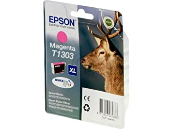 Epson Stylus Office BX 535 WD (T1303 / C 13 T 13034010) - original - Ink cartridge magenta - 600 Pages - 10,1ml