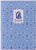 デルフィーノ 2016年マンスリー手帳 Disney ワッペン風 シンデレラ  【2015年9月始まり】 ブルー A5サイズ DZ-77045