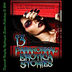 13 Paranormal Erotica Stories Audiobook