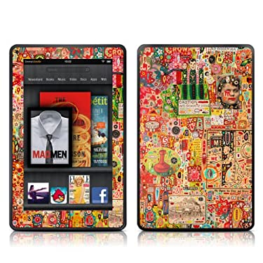 Kindle Fire Skin Kit/Decal - Flotsam and Jetsam (will not fit HD or HDX models)