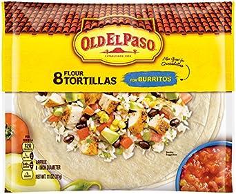 Amazon.com: Old El Paso Tortilla Shells, 8 Count: Prime Pantry