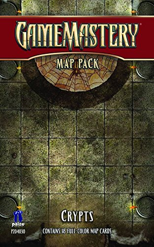 GameMastery Map Pack: Crypts - 1