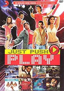 Just Push Play-50 Sizzling Song Videos (Bollywood Music/DVD/Videos/Indian Cinema/India)