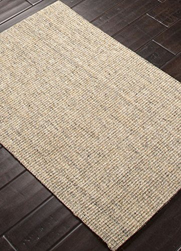 Addison and Banks Naturals Solid Pattern Sisal Area Rug, 2 by 3-Feet, Mottled Marble/Edge