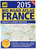 AA Big Road Atlas France 2015
