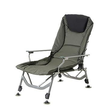 All'aperto in alluminio casual imbottito sedia pieghevole