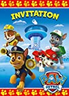 PAW Patrol Invitations 8