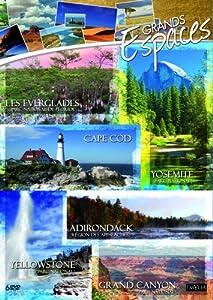 Coffret grands espaces : yellowstone ; grand canyon ; yosemite ; cape cod ; adirondack ; everglades