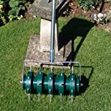 Greenkey 30cm Rolling Lawn Aeratorby Greenkey Garden and...
