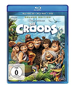 Die Croods (inkl. 2D Blu-ray & DVD) [3D Blu-ray] [Deluxe Edition]