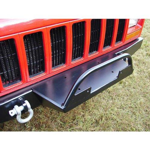 Rock Hard 4x4 Front Bumper Winch Plate For Jeep Cherokee XJ