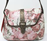TAYLOR SWIFT WONDERSTRUCK PINK/RED/WHITE FLOWERS DESIGN HANDBAG SHOPPING BAG