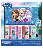 Frozen 10pk Lip Balm & Lip Gloss with Cosmetic Bag in Window Box