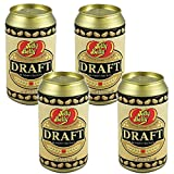 (Set/4) Jelly Belly Draft Beer Can Tin Gourmet Beer Flavored Candy Beans