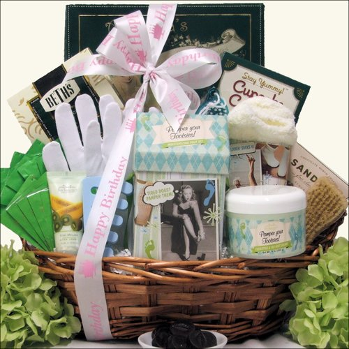 Greatarrivals Gift Baskets Hands And Feet Specialty Spa Birthday Bath And Body Spa Gift Basket