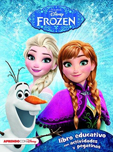 Frozen. Libro Educativo Con Actividades Y Pegatinas