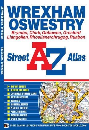 Wrexham Street Atlas (A-Z Street Atlas)
