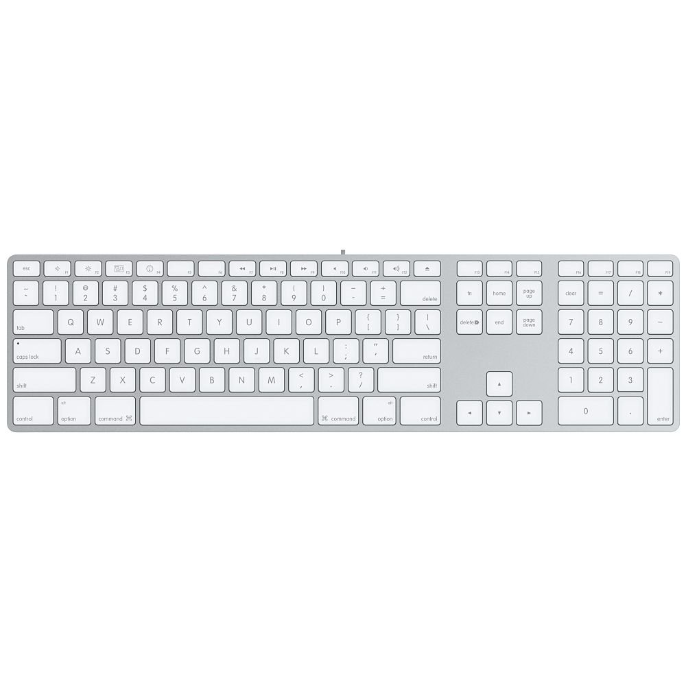 Apple Wired Mini Keyboard Apple Wired Keyboard With