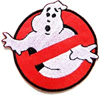Ghostbusters No Ghost Movie Comics Cartoon Logo Kid Baby Jacket T shirt Patch Sew Iron on Embroidered Symbol Badge Cloth Sign Costume By Prinya Shop from PRINYA SHOP