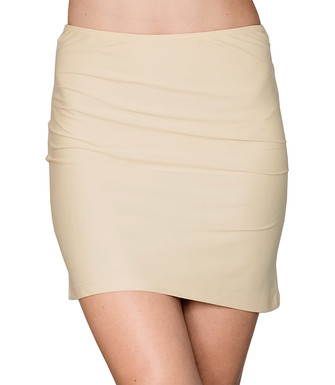 Kefali Damen Unterrock Jupon Unterkleid Underskirt