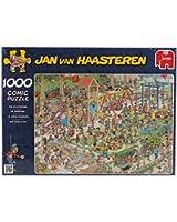 Diset - 01599 - Puzzle - Le Jardin Public - 1000 Pièces