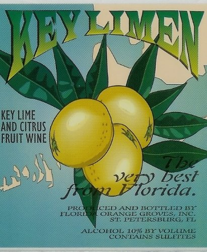 Nv Florida Orange Groves Key Limen - Key Lime Fruit Wine 750 Ml