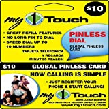 My1touch Prepaid Pinless Dial Calling Card