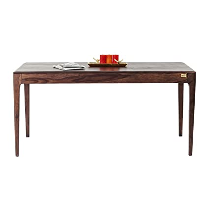 Kare design - Table à manger rectangle bois noyer 175 Brooklyn