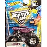 2015 ALL NEW LOOK! Avenger Monster Jam Off Road Truck By Hot Wheels 1:64 With Battle Slammer