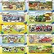 Ravensburger 06359 - Mein Bagger, 15 Teile Rahmenpuzzle